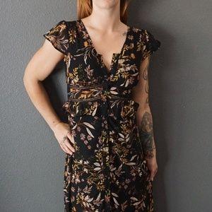 Dresses & Skirts - Button Down Floral Maxi Dress